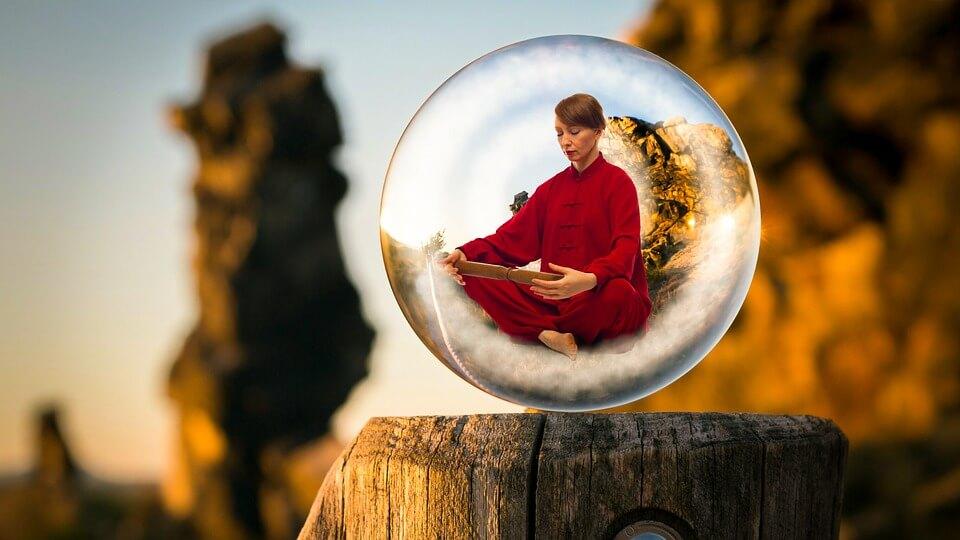 Место медитации Йонгда ламы
