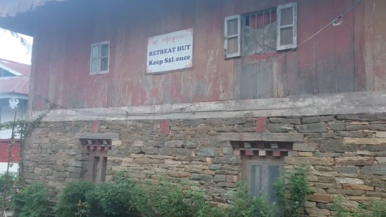 Ретритный дом и моя комната в Пемаянгтсе